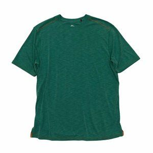 TOMMY BAHAMA Casual Short Sleeve Green T-Shirt Lg